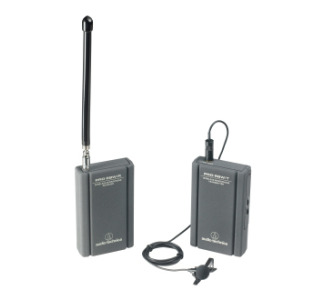 Audio Technica Pro 88 Wireless Lavalier Mic System Freq: 169.445/170.245