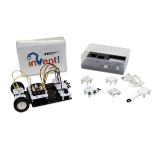 HamiltonBuhl HB Invent! Kit - STEAM Education Robot Assembling And Coding