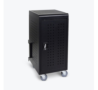 Luxor LLTM24-B 24-Device Tablet/Chromebook Charging Cart