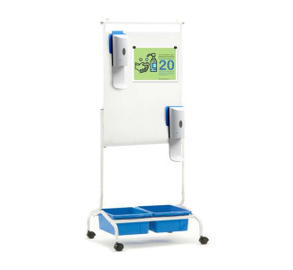 Copernicus CS700-SAN Deluxe Chart Stand Sanitizer Station (dispensers included)