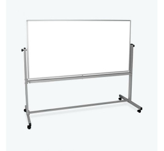 "72""W x 48""H Double-Sided Magnetic Whiteboard"