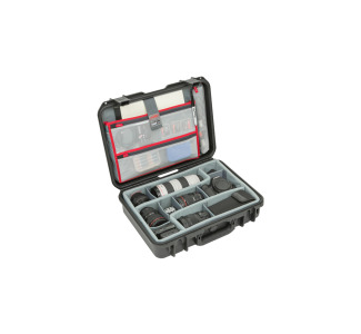 iSeries 1813-5 Photo and Video Case with Think Tank Designed Dividers and Lid Organizer