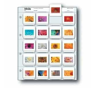 "Print File Slide Page 20-2 x 2"" Slides 100 Sheets"