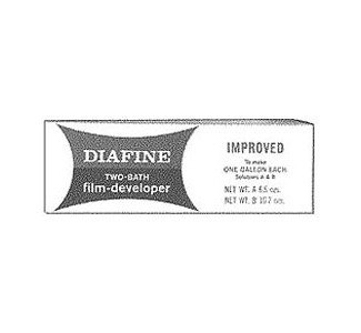 Acufine Diafine Developer 1 Gallon