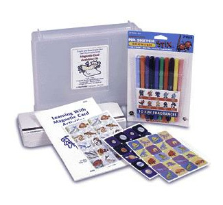 Califone Magnetic Card Activities Kit - AK1000