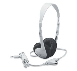Califone 3060AV Multimedia Stereo Headphone for Schools