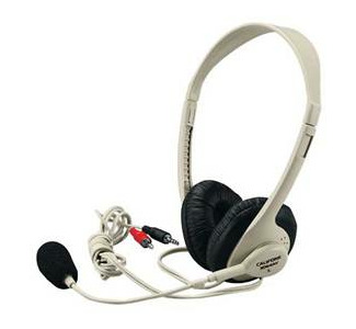 Califone Multimedia Stereo Headphone/ Microphone - 3064AV