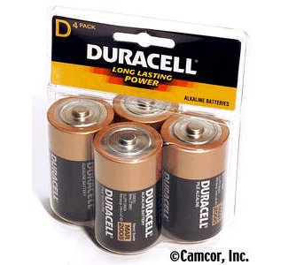 Duracell D Batteries