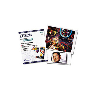 "Epson 8.5"" x 11"" Glossy Paper 20 Sheet"