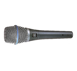 Shure Beta 87A Super-CD Condenser Microphone