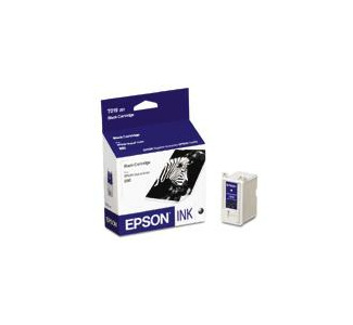 Epson Black Ink Cartridge f/Stylus Color 880