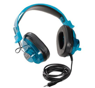 Califone Blueberry Stereo Headphone w/Mini plug