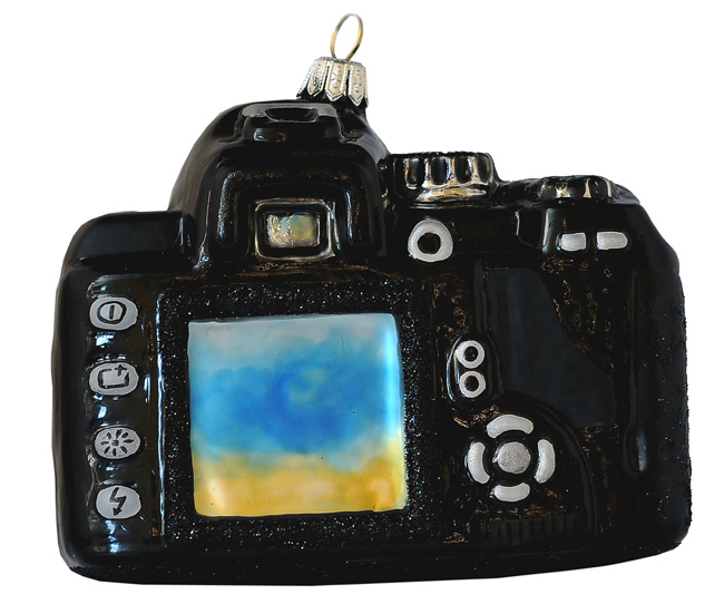 PolskaGlas Camera Glass Ornament