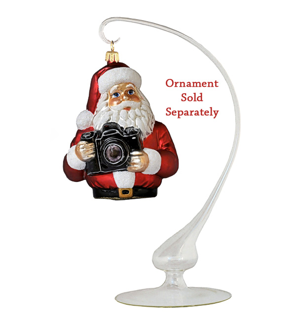 Glass Ornament Display Stand (Milky Finish)