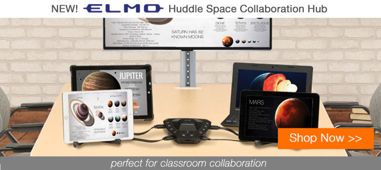 Camcor - Elmo Huddle Space Collaboration Hub