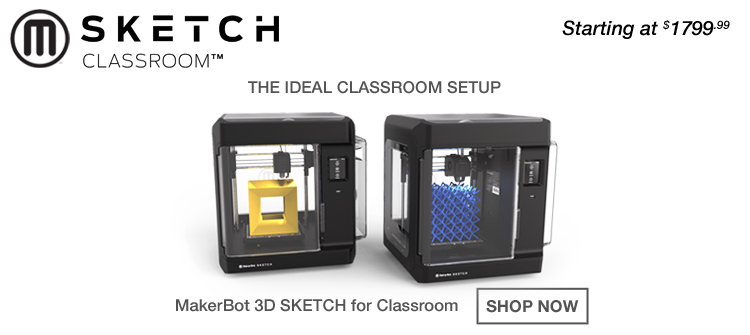Dual 3D Printers for Classroom Use