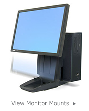 Ergotron Monitor Mounts and Stands